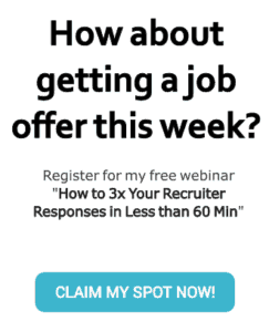 Join the webinar How to 3x Your Recruiter Responses in Less than 60 Min